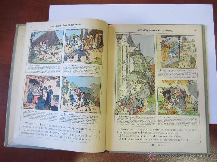 Libros antiguos: Histoire de France. Cours Devinat. 1923 - Foto 3 - 51471447