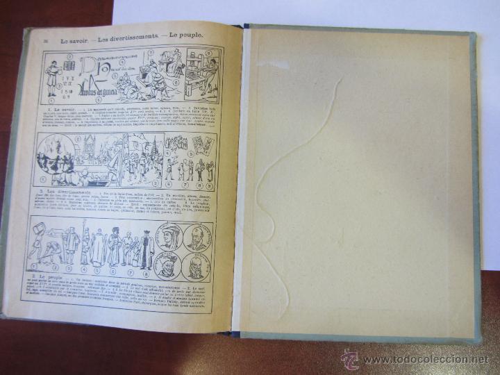 Libros antiguos: Histoire de France. Cours Devinat. 1923 - Foto 4 - 51471447