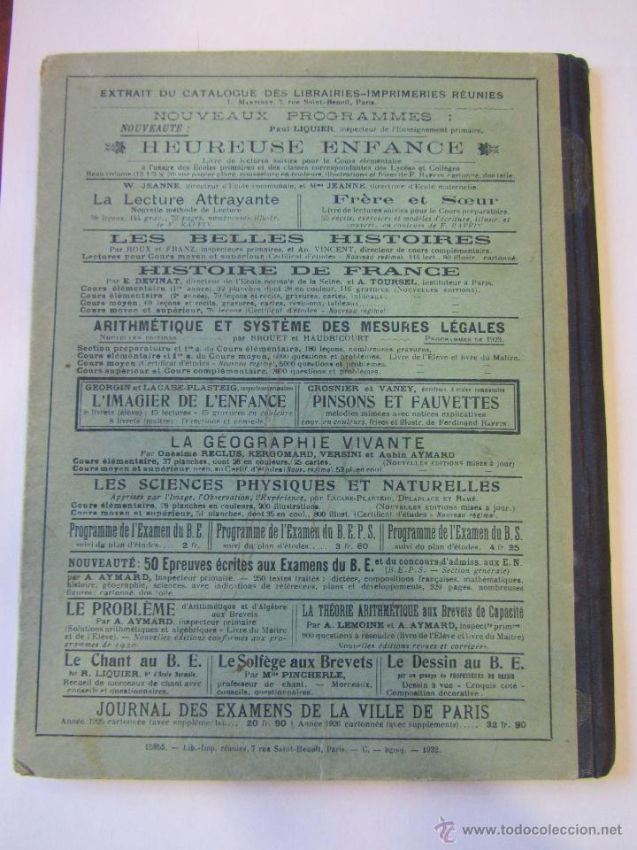 Libros antiguos: Histoire de France. Cours Devinat. 1923 - Foto 5 - 51471447