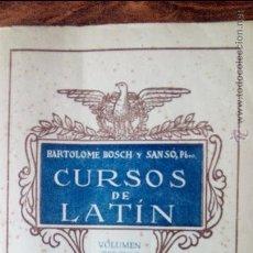 Libros antiguos: CURSOS DE LATIN,TOMO III. Lote 51530143