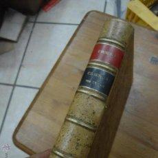 Libros antiguos: LIBRO ESCUELA ESPECIAL DE INGENIEROS CAMINOS, CANALES Y PUERTOS CAMINOS 1ER CURSO 1923 L-9319. Lote 51594625