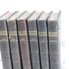 Libros antiguos: L-205. HISTORIA UNIVERSAL. NOVISIMO ESTUDIO DE LA HUMANIDAD.6 TOMOS. INSTITUTO GALLACH. BARCELONA. 1. Lote 51598839