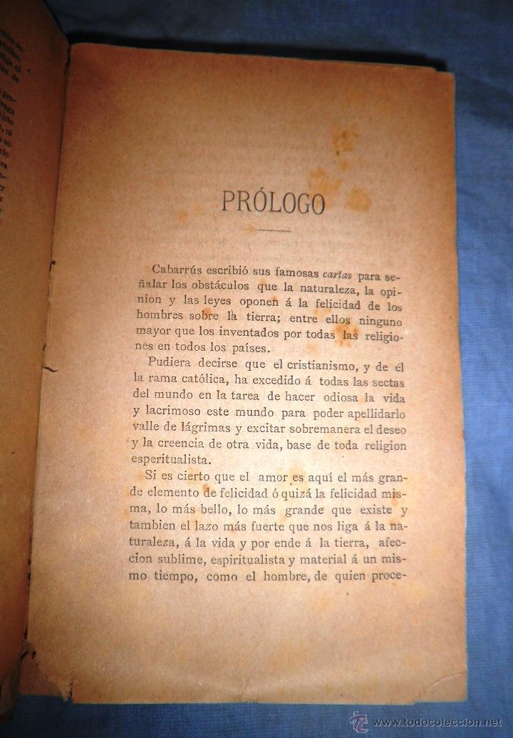 Libros antiguos: EL SACRAMENTO ESPUREO - AÑO 1888 - CONSTANCIO MIRALTA - ANTICLERICAL. - Foto 4 - 51601112