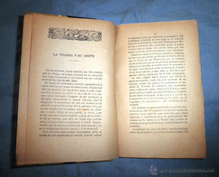 Libros antiguos: EL SACRAMENTO ESPUREO - AÑO 1888 - CONSTANCIO MIRALTA - ANTICLERICAL. - Foto 5 - 51601112