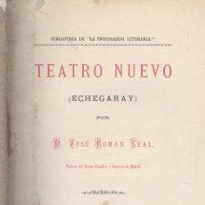 Libros antiguos: JOSÉ ROMÁN LEAL. TEATRO NUEVO (ECHEGARAY). LA HABANA, 1880.. Lote 51418520