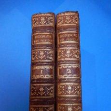 Libros antiguos: DICTIONNAIRE DES PASSIONS. DES VERTUS ET DESVICES. DOS TOMOS. 1777. PARIS. Lote 51707467