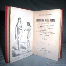 Libros antiguos - MONSTRUOSIDADES HUMANAS - AÑO 1863 - A.DEBAY - IMPRESIONANTES GRABADOS. - 51761917