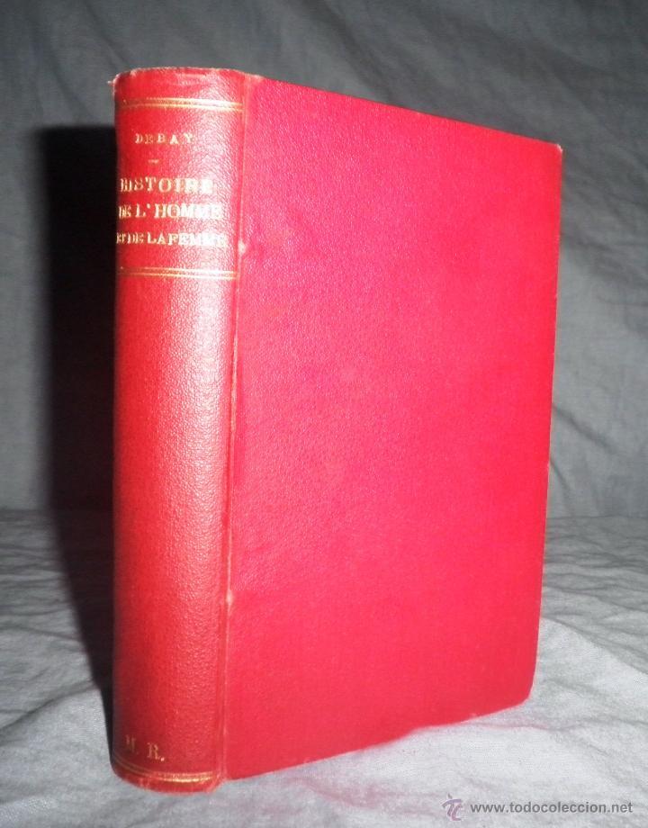 Libros antiguos: MONSTRUOSIDADES HUMANAS - AÑO 1863 - A.DEBAY - IMPRESIONANTES GRABADOS. - Foto 2 - 51761917