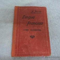 Libros antiguos - LIBRO ANTIGUO LENGUA FRANCESA CURSO ELEMENTAL A. PERRIER METODO PERRIER - 51788933