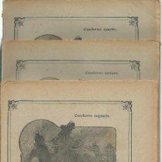 Libros antiguos: JULIO VERNE - MISTRESS BRANICAN- CUADERNOS 2º - 3º Y 4º - EDIT.SAENZ DE JUBERA. Lote 51814155