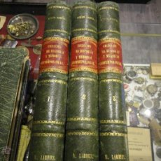 Libros antiguos: COLECCION DE HISTORIAS Y MEMORIAS CONTEMPORANEAS . CESAR CANTU.1866. GRABADOS. MAPAS ANTIGUOS. MAPA. Lote 51963560