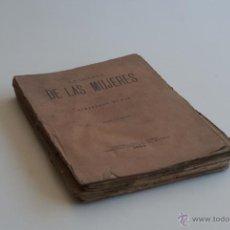Libros antiguos: LA GUERRA DE LAS MUJERES - A. DUMAS 1894. Lote 51972042