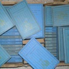 Libros antiguos: BIBLIOTECAS POPULARES CERVANTES. LAS 100 MEJORES OBRAS DE LA LITERATURA ESPAÑOLA. LOTE DE 60 VOLS.. Lote 52000082