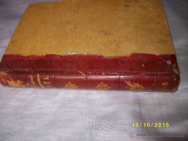 Libros antiguos: MANUAL PRACTICO DE ACTUACIONES Y EXPEDIENTES SUMARIOS PARA LA GUARDIA CIVIL 1878 - Foto 2 - 52032347