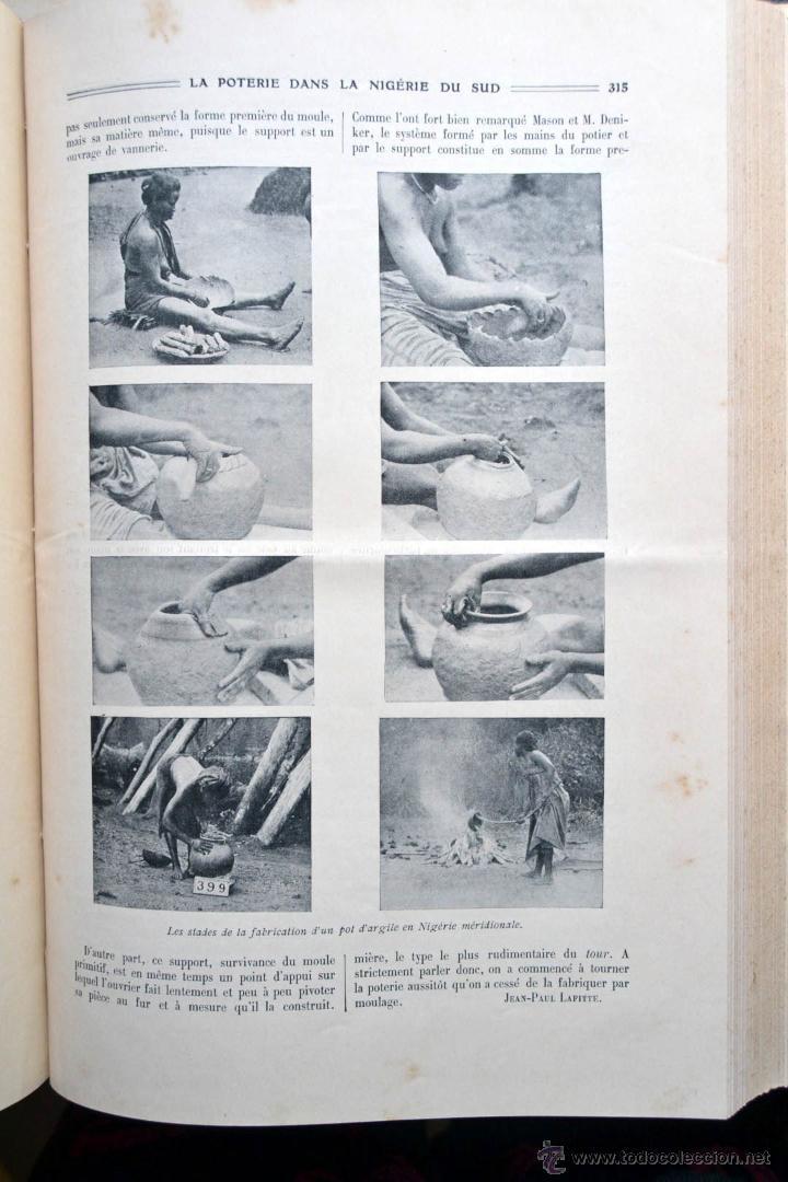 Libros antiguos: LA NATURE REVUE DES SCIENCES AÑO 1910 REVISTA DEDICADA A TODAS LAS CIENCIAS * GRABADOS - Foto 6 - 52067294