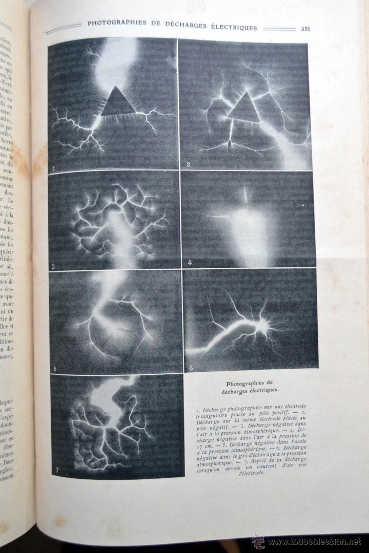 Libros antiguos: LA NATURE REVUE DES SCIENCES AÑO 1910 REVISTA DEDICADA A TODAS LAS CIENCIAS * GRABADOS - Foto 7 - 52067294