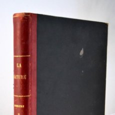 Libros antiguos: LA NATURE REVUE DES SCIENCES AÑOS 1900 REVISTA DEDICADA A TODAS LAS CIENCIAS * GRABADOS. Lote 52075819