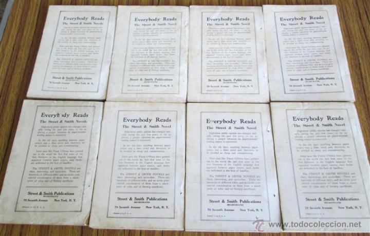 Libros antiguos: 8 libros colección New magnet library Por Nicholas Carter 1909 a 1915 - Foto 2 - 52119257