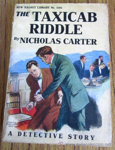 Libros antiguos: 8 libros colección New magnet library Por Nicholas Carter 1909 a 1915 - Foto 3 - 52119257