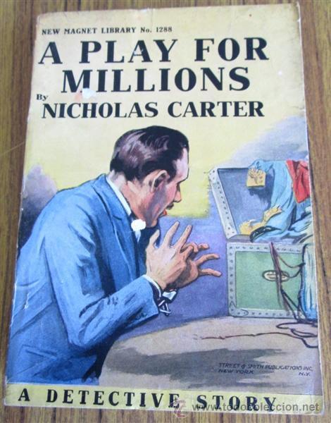 Libros antiguos: 8 libros colección New magnet library Por Nicholas Carter 1909 a 1915 - Foto 4 - 52119257