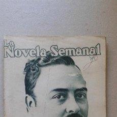 Libros antiguos: LIBRILLO LA NOVELA SEMANAL, LA DIABLESA, ANTON DEL OLMET, 25 CTS, MADRID 1921. Lote 52155033