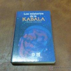 Libros antiguos: LIBRO; LOS MISTERIOS DEL KABALA DE FONTAINE. Lote 52213718