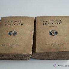 Libros antiguos: LA SCIENCE FRANÇAISE - TOMO I I II 1915. Lote 52287677