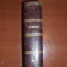 Alte Bücher - REVISTA ILUSTRADA LE PELERIN. AÑO 1882 COMPLETO Y ENCUADERNADO EN PIEL. MAS DE 200 GRABADOS. - 52295938