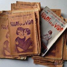 Libros antiguos: LOTE 49 NUMEROS, LOS CRIMENES DEL AMOR, SOLAS EN LA VIDA, CHARLES MEROUVEL, DEL 2 A 50 INCLUSIVE. Lote 52297681