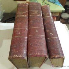 Libros antiguos: VICTOR HUGO, LOS MISERABLES, 3 TOMOS, ED. FELIPE GONZALEZ ROJAS,1889. Lote 52321337