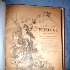 Libros antiguos: ILUSTRACION MUSICAL HISPANO-AMERICANA - AÑO 1888 - PRIMEROS NUMEROS.. Lote 52355381