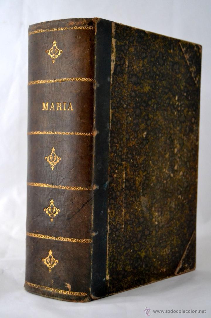 MARIA * ABATE B * CON LAMINAS (Libros antiguos (hasta 1936), raros y curiosos - Literatura - Narrativa - Otros)