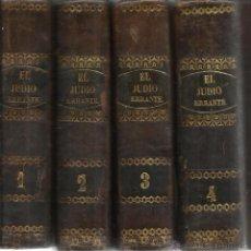 Libros antiguos: EL JUDIO ERRANTE. EUGENIO SUÉ. OBRA EN CUATRO TOMOS. D.F. DE P MELLADO EDITOR. MADRID. 1845. Lote 52425434