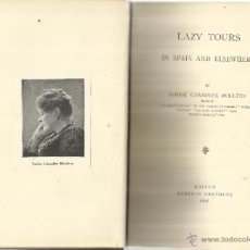Libros antiguos: LZY TOURS IN SPAIN AND ELSEWHERE. LOUISE CHANDLER MOULTON. ROBERTS BROTHERS. BOSTON. USA. 1896. Lote 52425698