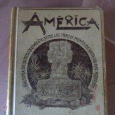 Libros antiguos: AMÉRICA. HISTORIA DE SU DESCUBRIMIENTO - TOMO I. RODOLFO CRONAU. MONTANER Y SIMÓN 1892. . Lote 52427666