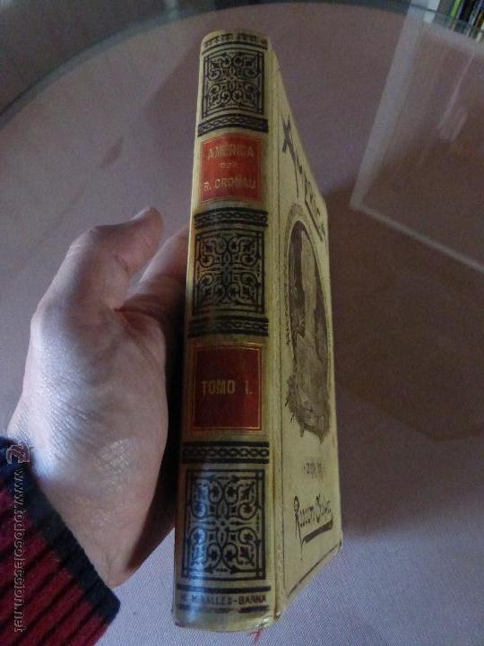 Libros antiguos: AMÉRICA. HISTORIA DE SU DESCUBRIMIENTO - TOMO I. RODOLFO CRONAU. MONTANER Y SIMÓN 1892. - Foto 2 - 52427666