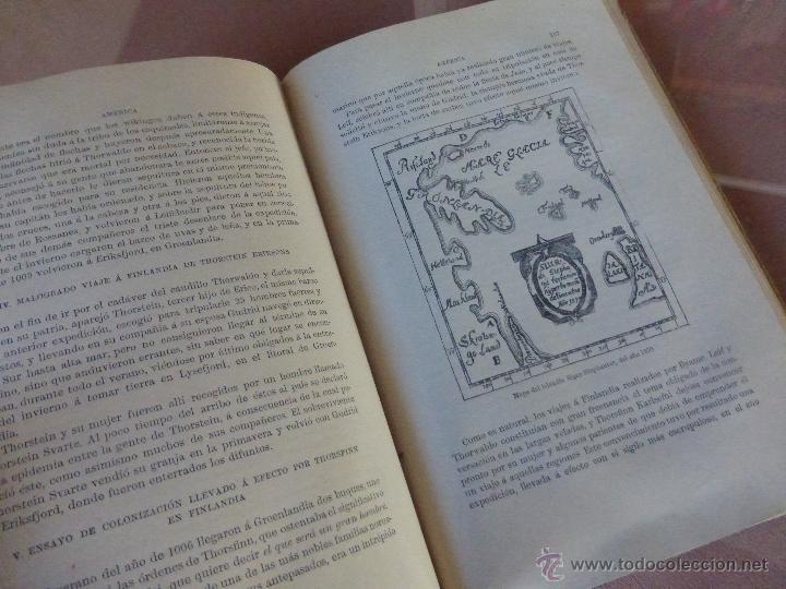 Libros antiguos: AMÉRICA. HISTORIA DE SU DESCUBRIMIENTO - TOMO I. RODOLFO CRONAU. MONTANER Y SIMÓN 1892. - Foto 4 - 52427666