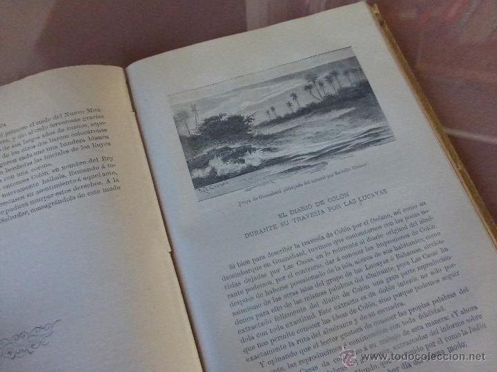 Libros antiguos: AMÉRICA. HISTORIA DE SU DESCUBRIMIENTO - TOMO I. RODOLFO CRONAU. MONTANER Y SIMÓN 1892. - Foto 5 - 52427666