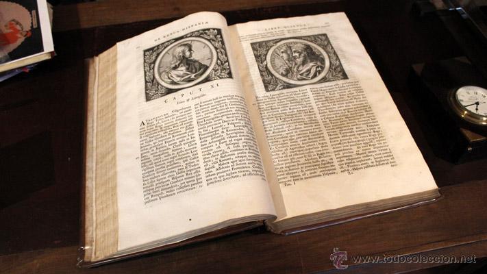 MARIANA, JUAN DE: HISTORIAE DE REBUS HISPANIAE. 4 TOMOS EN 2 VOLS. 1733 (Libros Antiguos, Raros y Curiosos - Historia - Otros)