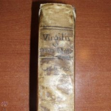 Libros antiguos: P. VIRGILII MARONIS. OPERA BREBIARIIS ET NOTIS HISPANICIS. BARCINONE 1801. Lote 52450797