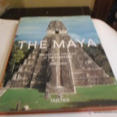 Libros antiguos: HENRI STIERLIN, THE MAYA, PALACES AND PYRAMIDES OF THE RAINFOREST, TASCHEN. Lote 52452478