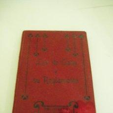 Libros antiguos: LEY DE CAZA Y SU REGLAMENTO AÑO 1917. SEGUNDA EDICIÓN. Lote 52525177