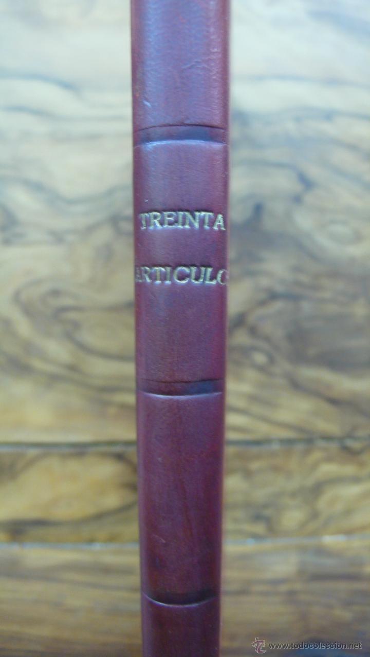 Libros antiguos: TREINTA ARTÍCULOS. ALFREDO CALDERÓN. 1902. - Foto 2 - 52560286