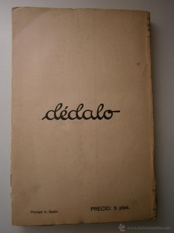 Libros antiguos: EL ORO BLAISE CENDRARS Dedalo 1 edicion 1931 - Foto 4 - 52576700