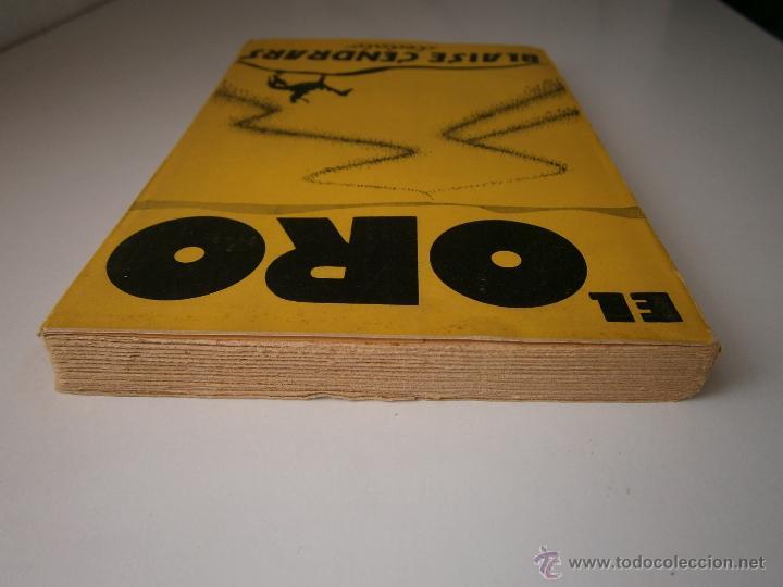 Libros antiguos: EL ORO BLAISE CENDRARS Dedalo 1 edicion 1931 - Foto 6 - 52576700