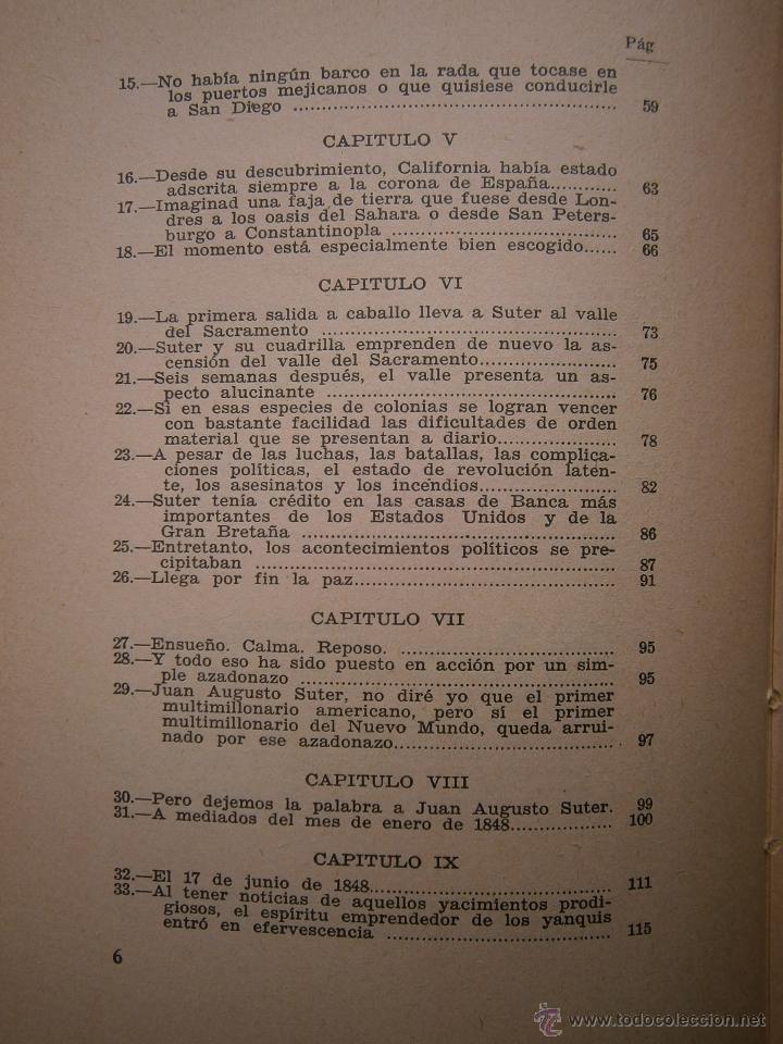 Libros antiguos: EL ORO BLAISE CENDRARS Dedalo 1 edicion 1931 - Foto 10 - 52576700