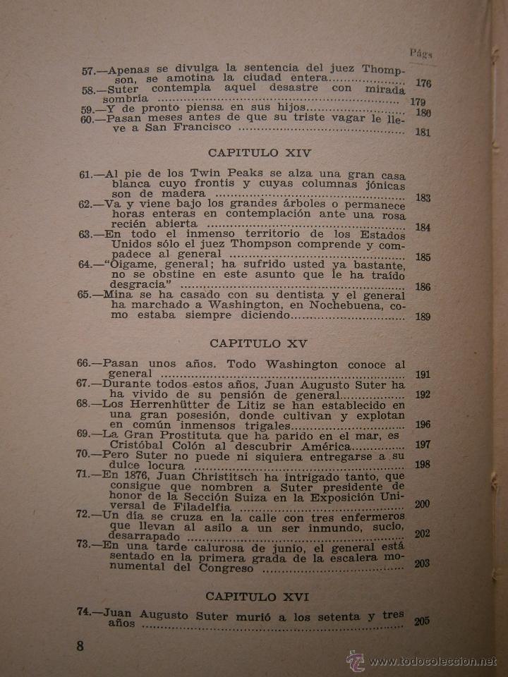 Libros antiguos: EL ORO BLAISE CENDRARS Dedalo 1 edicion 1931 - Foto 12 - 52576700