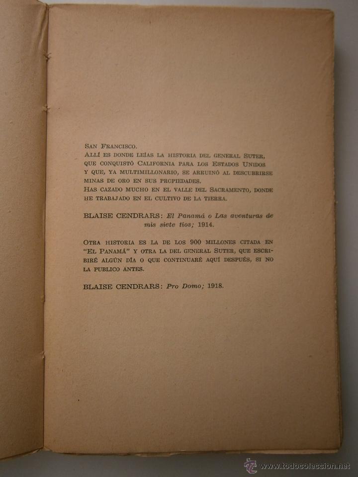 Libros antiguos: EL ORO BLAISE CENDRARS Dedalo 1 edicion 1931 - Foto 13 - 52576700
