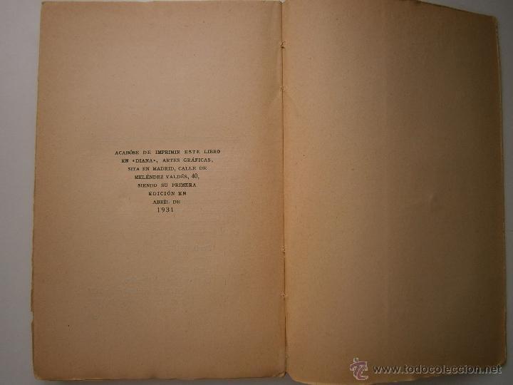 Libros antiguos: EL ORO BLAISE CENDRARS Dedalo 1 edicion 1931 - Foto 14 - 52576700