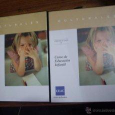 Libros antiguos: CURSO EDUCACION INFANTIL. Lote 52585337